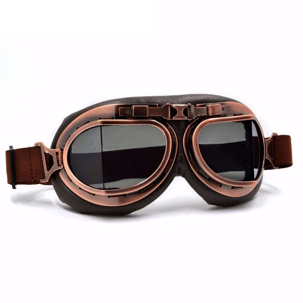 Victorian Steampunk Fashion Mad Burner Vintage Aviator Goggles