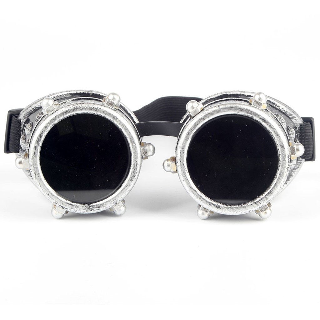 Victorian Steampunk Fashion Mad Burner Vintage Welding Goggles