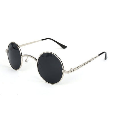 Victorian Steampunk Fashion MadBurner Small Retro Sunglasses