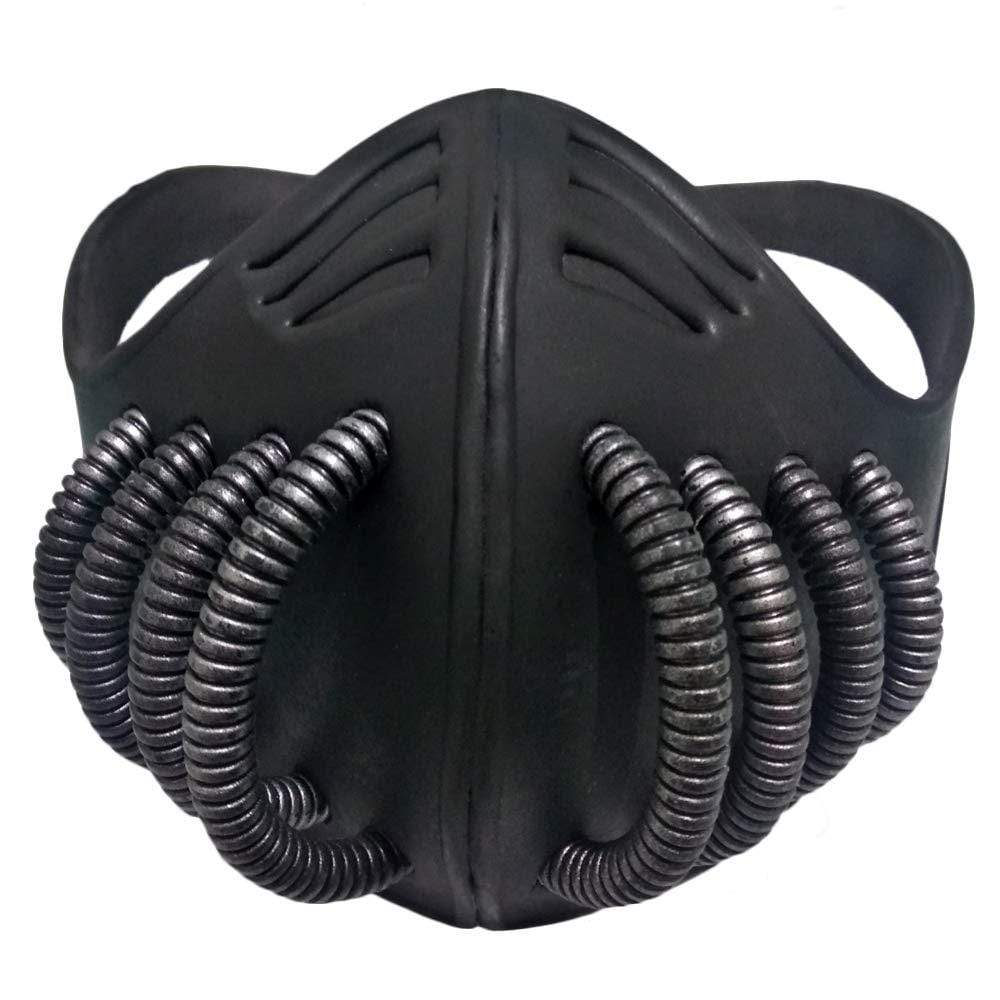 Victorian Steampunk Fashion MadBurner Tubed Black Face Mask
