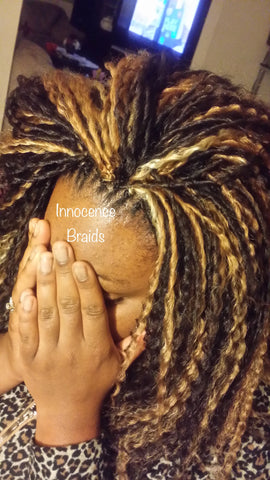 CROCHET BRAID (long)