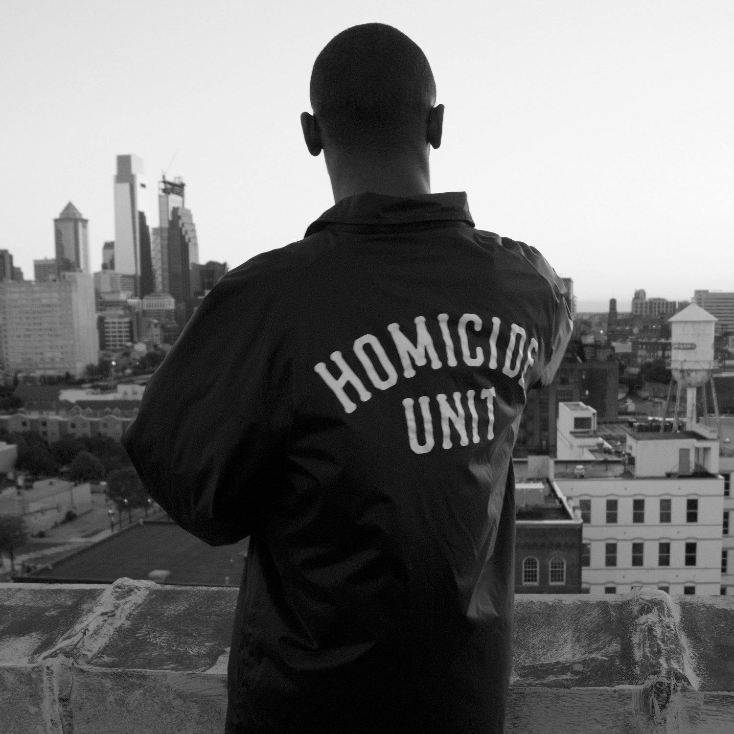 Homicide Unit Coaches Jacket