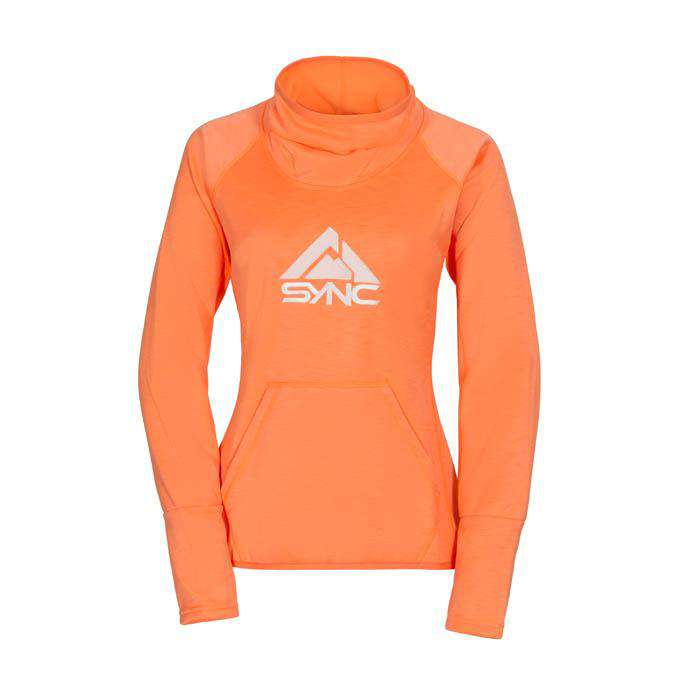 sync-performance-women's-orange-focus-fleece