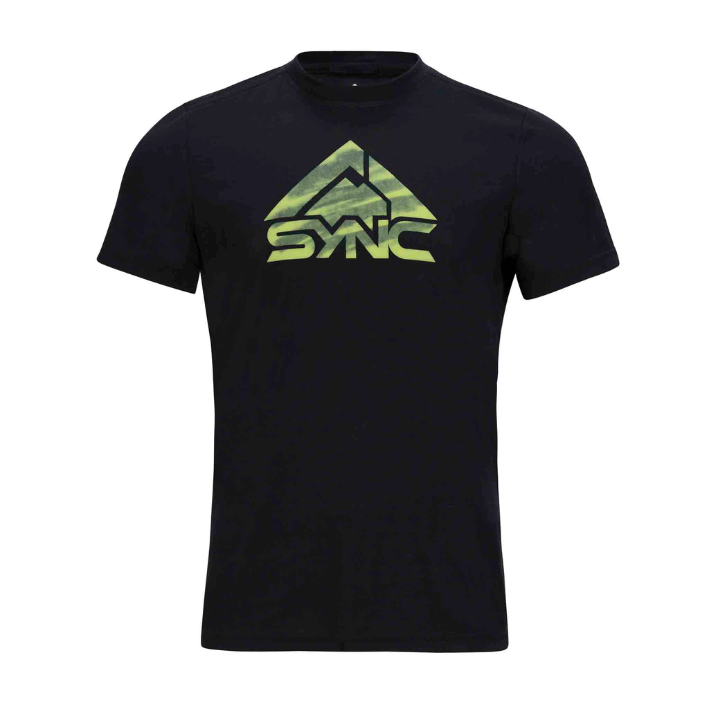 Mens-Logo-Tee-Black-Front