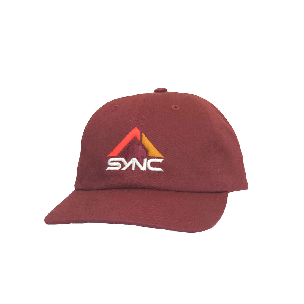 dad-hat-maroon-front