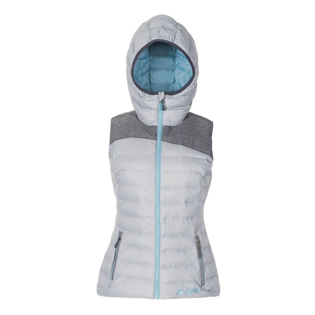 womens-puffy-vest-grey-front