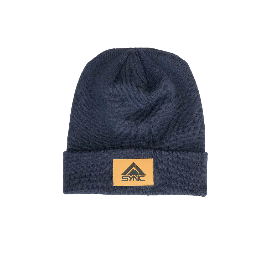 Patch Beanie - Navy
