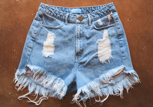 Houston High-Waisted Shorts