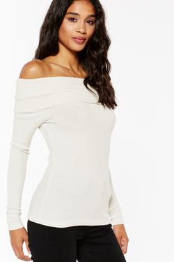 Bonita Off-Shoulder Longsleeve