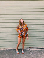Heather Romper