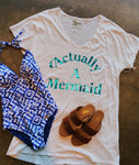 Benji Tunic Tee - Mermaid