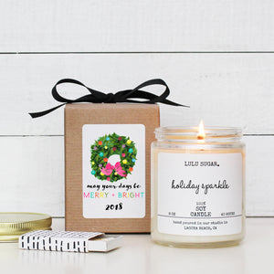 Merry & Bright Gift Candle