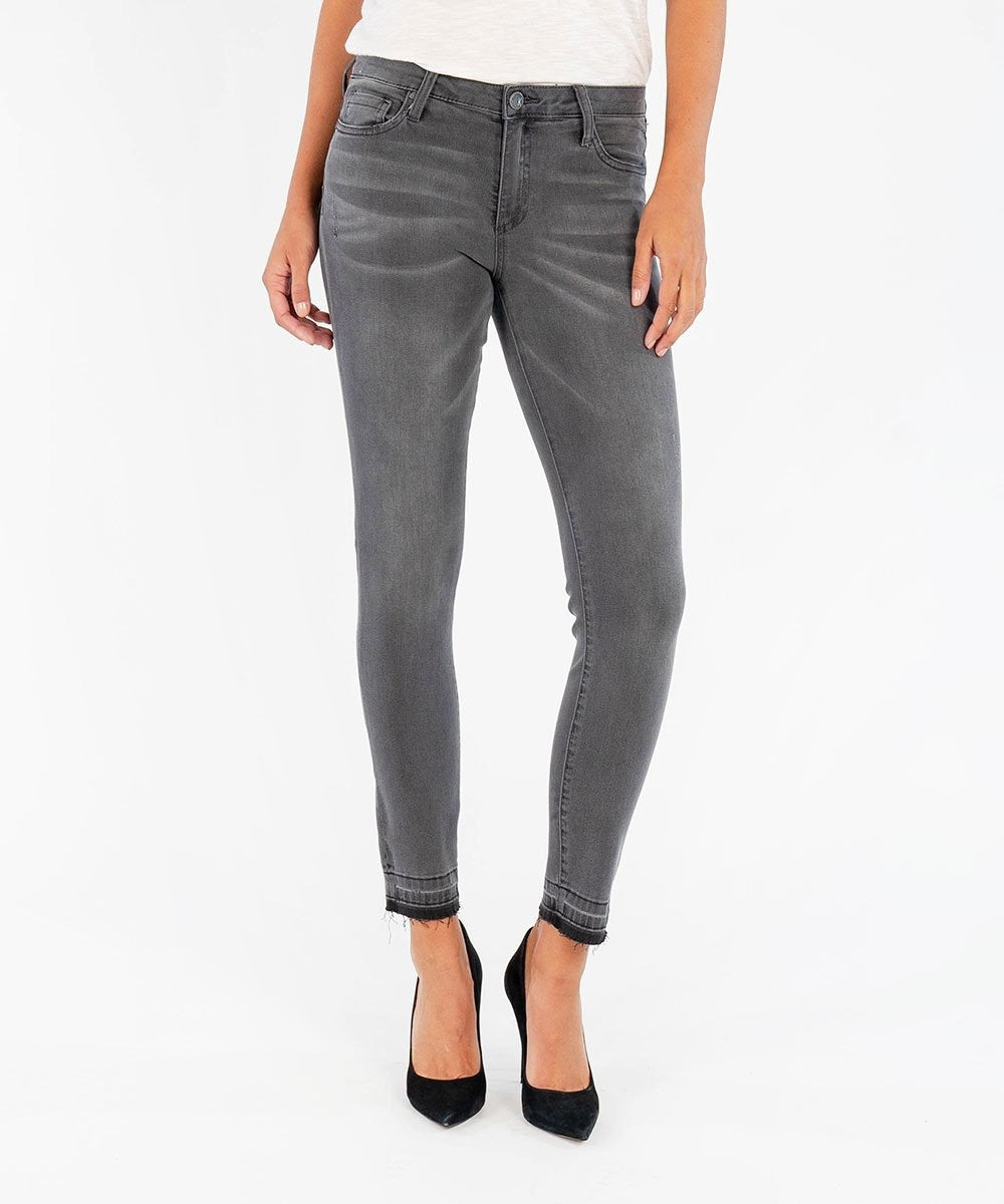 Donna Ankle Skinny - Prized Grey