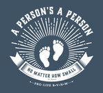 Copy of BVNW Pro Life - Heather Blue