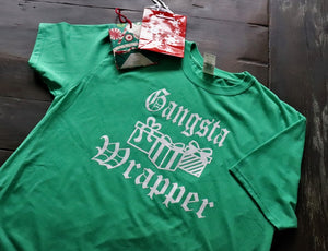 Gangster Wrapper! - Short Sleeve Tee - KC Shirts