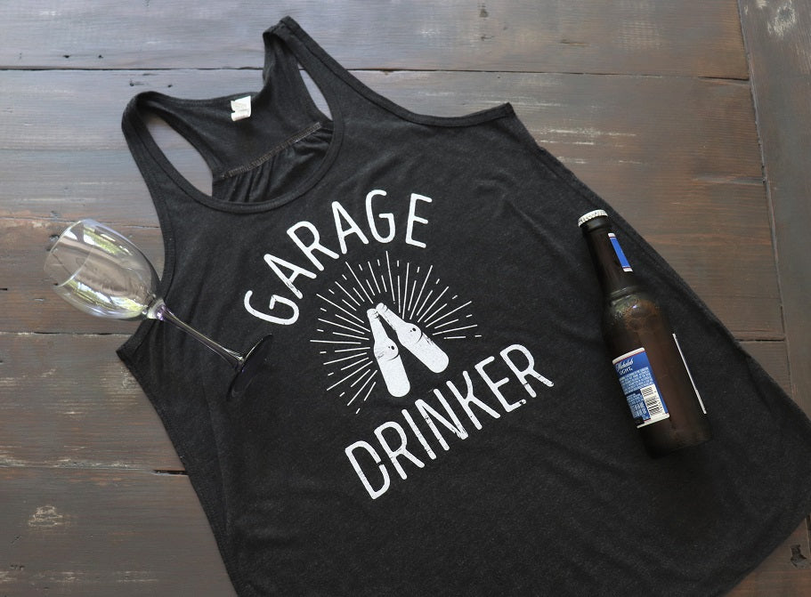 Garage Drinker™ Women's Tank - KC Shirts