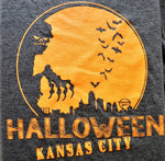 Halloween Kansas City Skyline - KC Shirts
