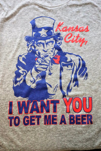 KC I Want You! To get me a beer!