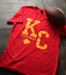 New KC Football with Arrowhead