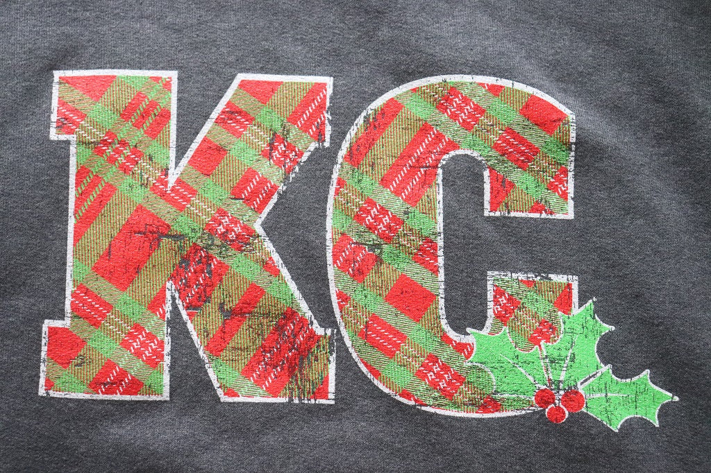 KC Plaid Holiday Hoodie - KC Shirts
