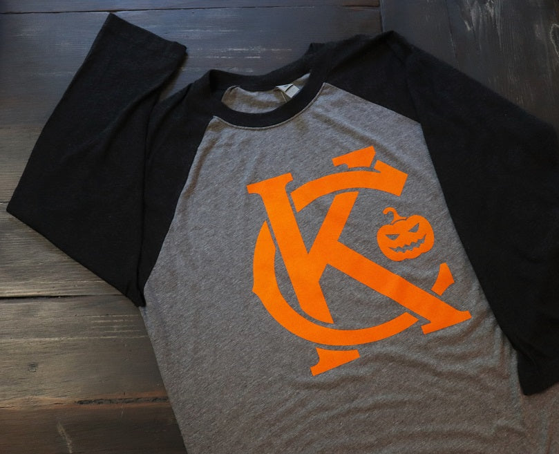 KC Pumpkin Baseball Tee