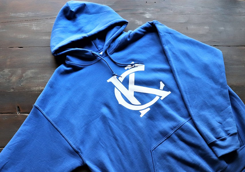 Royal Blue KC Hoodie - KC Shirts
