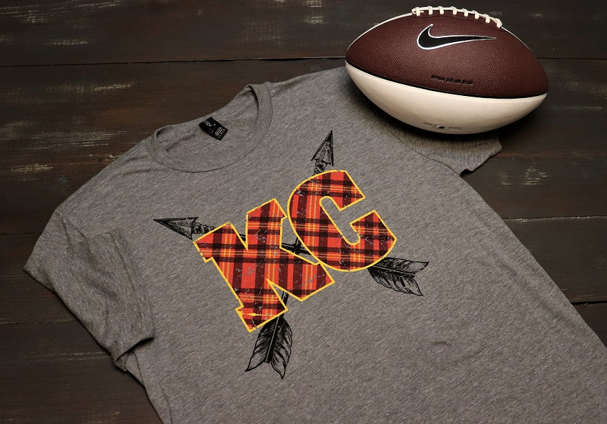 KC Plaid and Arrows