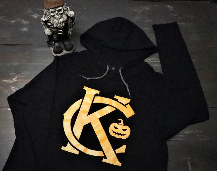 KC Pumpkin Lightweight Hoodie - KC Shirts