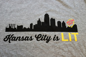 Kansas City is LIT - KC Shirts
