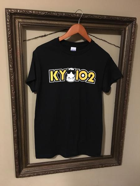 KY102 Black Hippo T-Shirt - KC Shirts