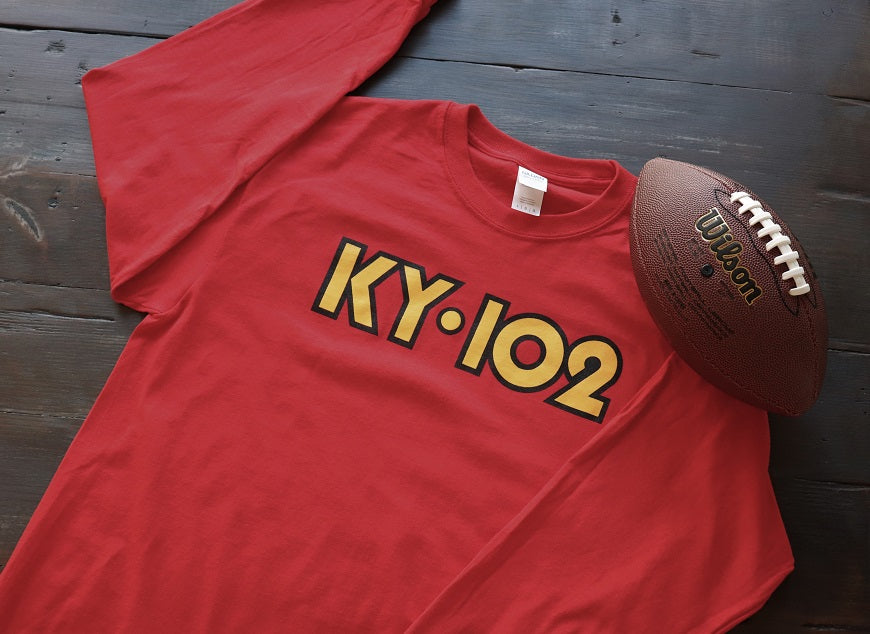 Red Long Sleeve KY102 with Dot - KC Shirts