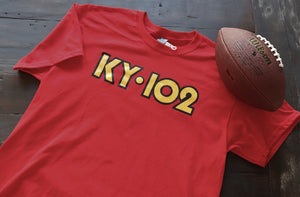 Red KY102 DOT Short Shirt