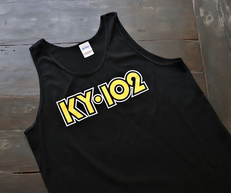 KY102 DOT Black Tank - KC Shirts
