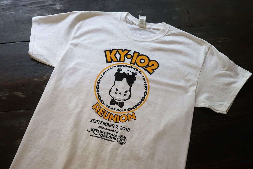 Reunion KY102 White T-Shirt - KC Shirts