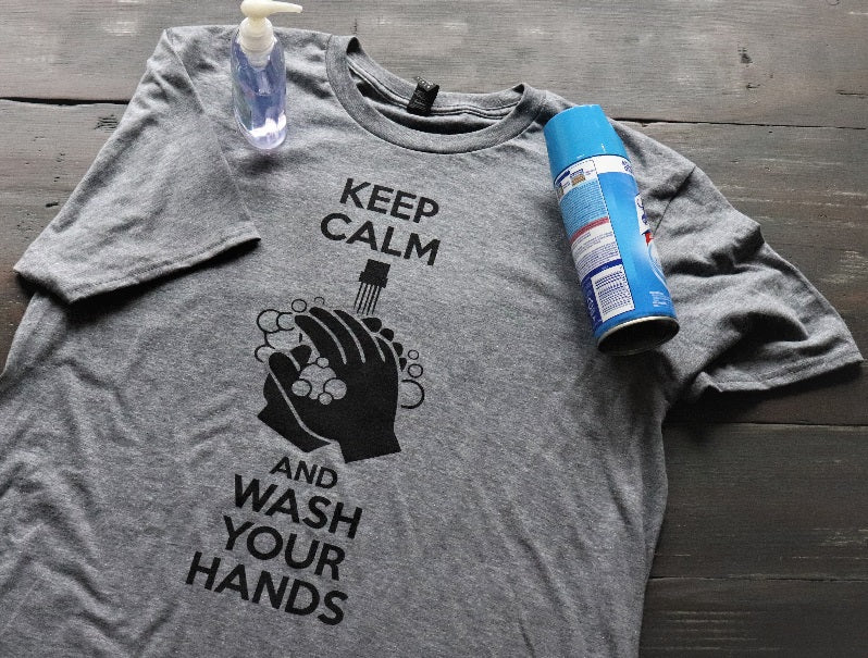 Keep Calm and Wash Your Hands!