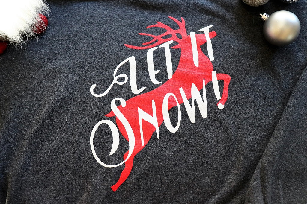 Let It Snow - Sweatshirt - KC Shirts