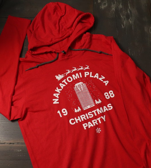 Nakatomi Plaza Christmas Party! Thin Hoodie
