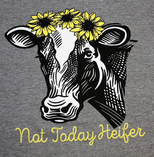 Not Today Heifer - KC Shirts