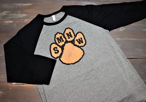 Shawnee Mission North West Cougars Paw Print