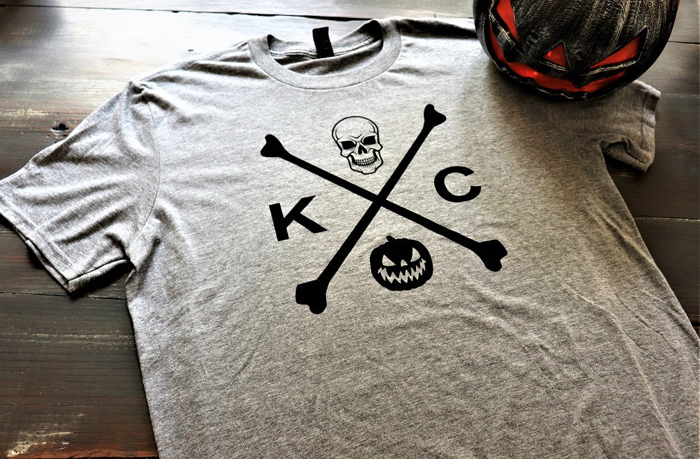 KC Skull and Bones Short Sleeve - KC Shirts