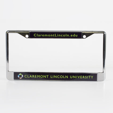 CLU License Plate Frame – Claremont Lincoln University
