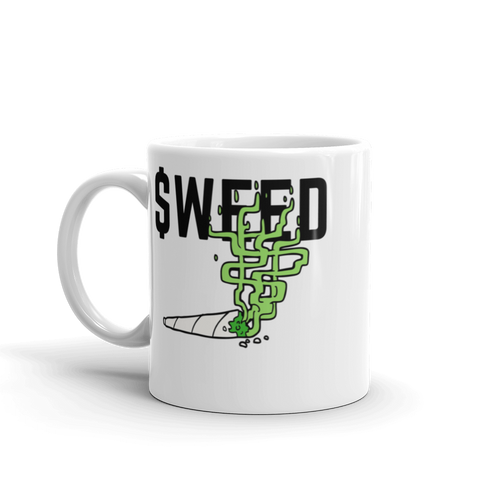 WEED Stock Ticker Mug
