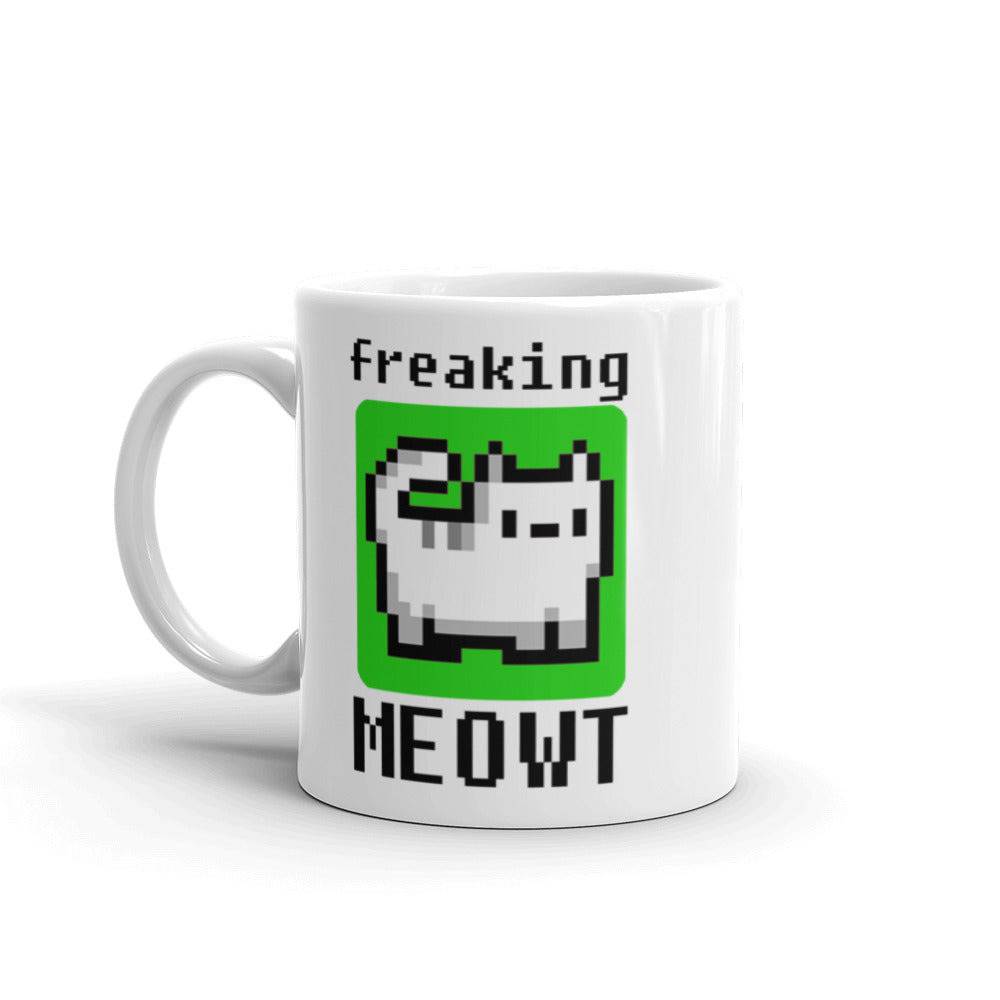 Freaking MEOWT Cat Mug
