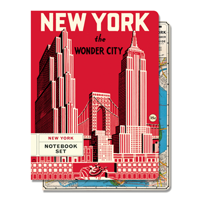 NOTEBOOK SET MED / NEW YORK