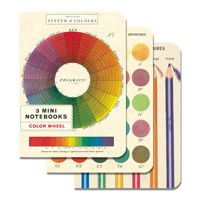 NOTEBOOK SET CH / COLOR WHEEL