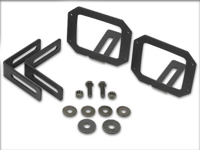 RUGGED RIDGE Light Mount Bracket Kit for 07-18 Jeep Wrangler JK and 18-up JL