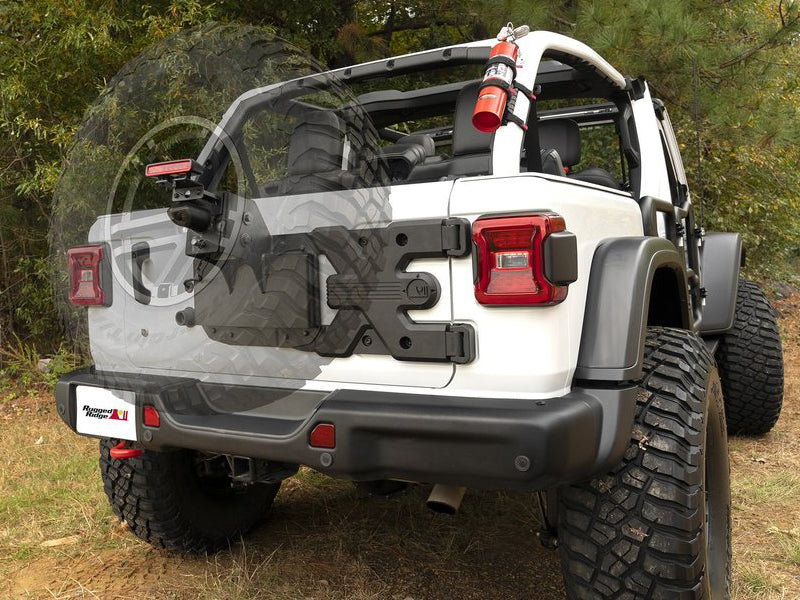 RUGGED RIDGE Spartacus HD Tire Carrier for 18-up Jeep Wrangler JL & JL Unlimited