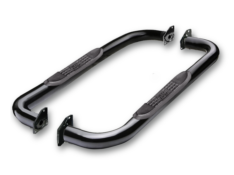 "RUGGED RIDGE 3"" Round Side Step Bars for 97-06 Jeep Wrangler TJ"