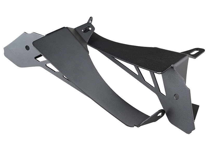 RUGGED RIDGE Chop Brackets, Front Fender Kit for 18-up Jeep Wrangler JL & JL Unlimited
