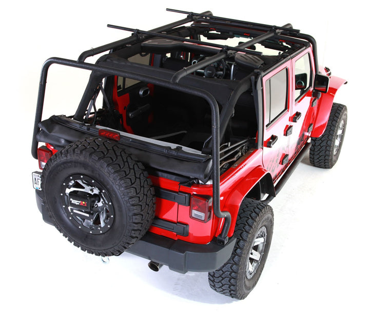 RUGGED RIDGE Sherpa Roof Rack for 07-18 Jeep Wrangler JK Unlimited